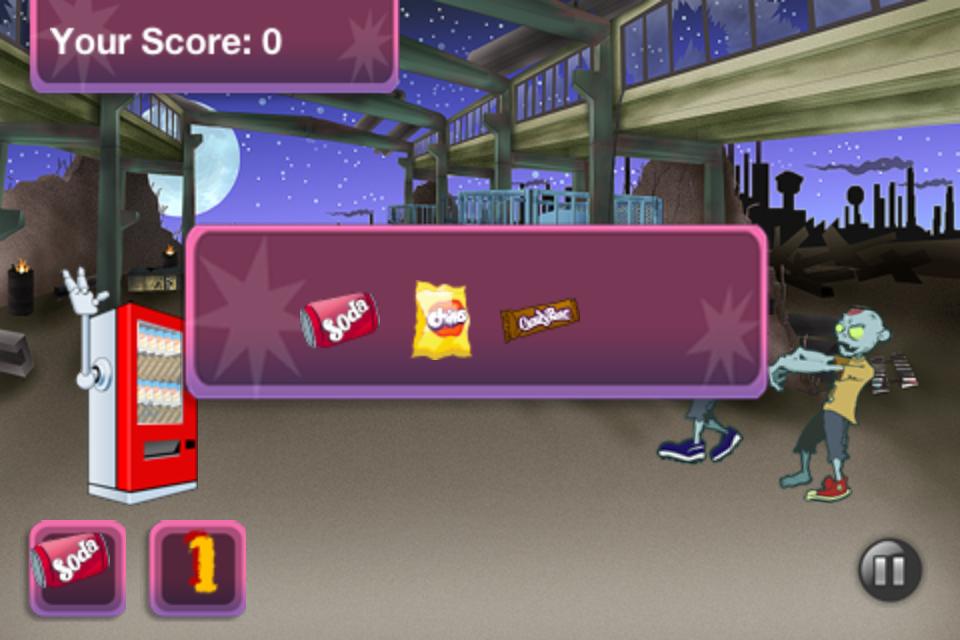 Screenshot Snack WarZ Free