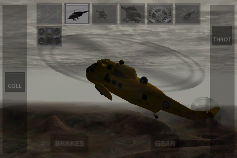 Screenshot X-Plane Helicopter